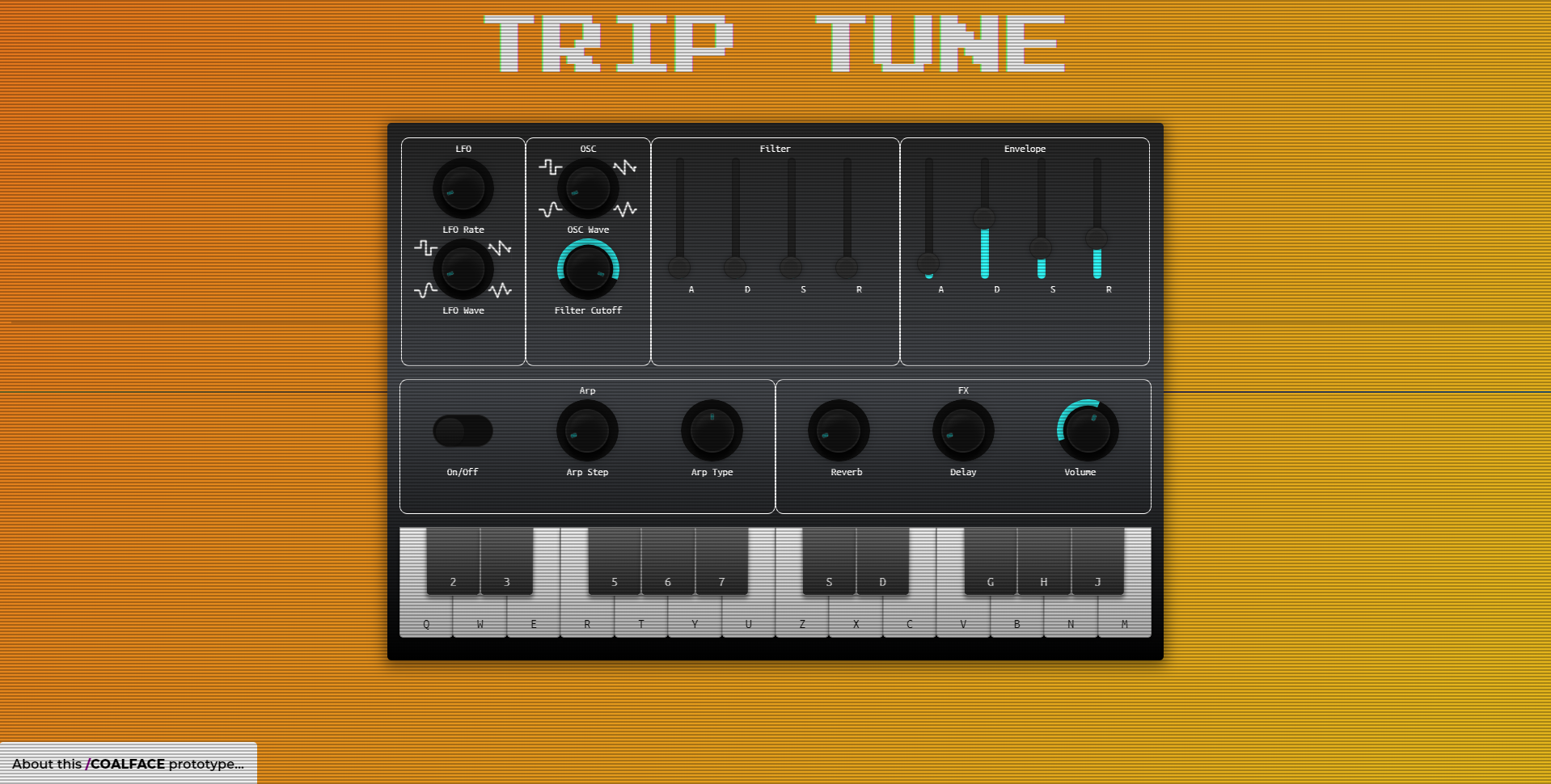Trip tune screenshot